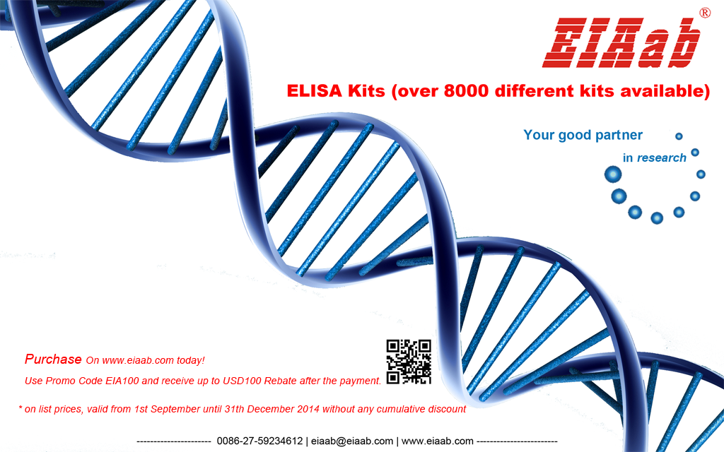 ELISA KITS sales promotion-Purchase on www.eiaab.com Today!